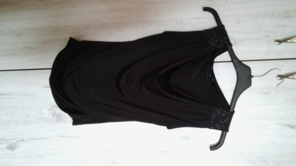 Czarna bluzka Orsay