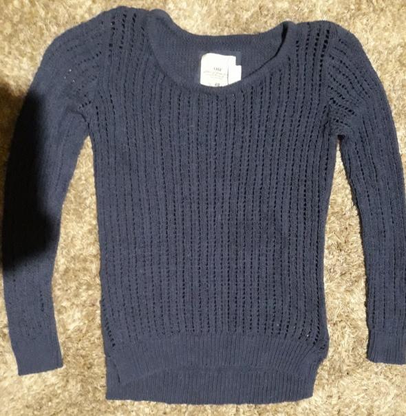 Chabrowy sweterek HM XS