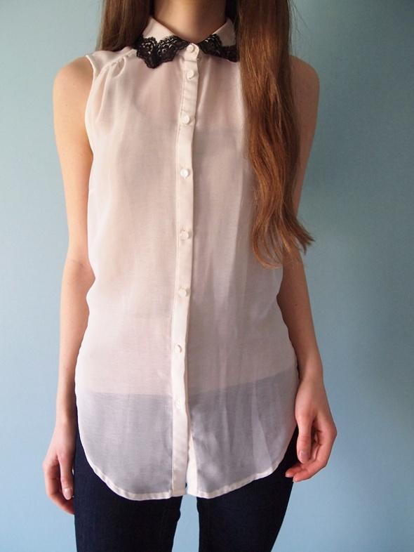 Kremowa elegancka koszula Atmosphere 36 S mgiełka