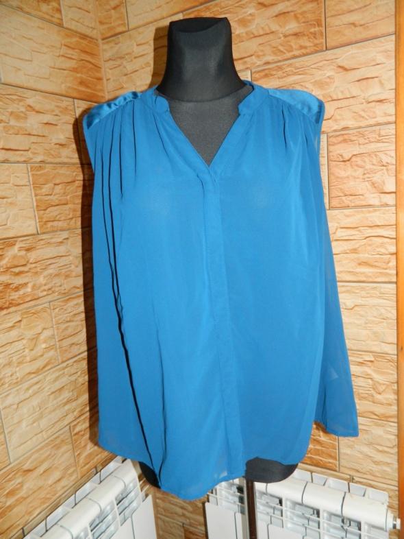 VILA luźna bluzka koszula bez rękawów roz XL