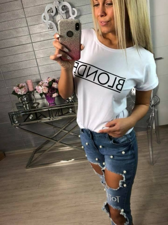 Hitowa koszulka BLONDE