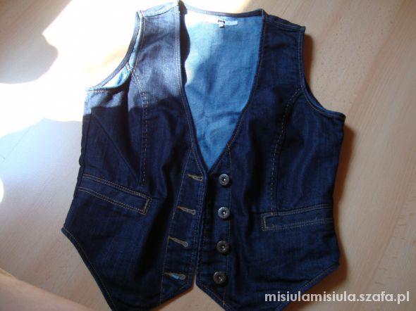 kamizelka jeans