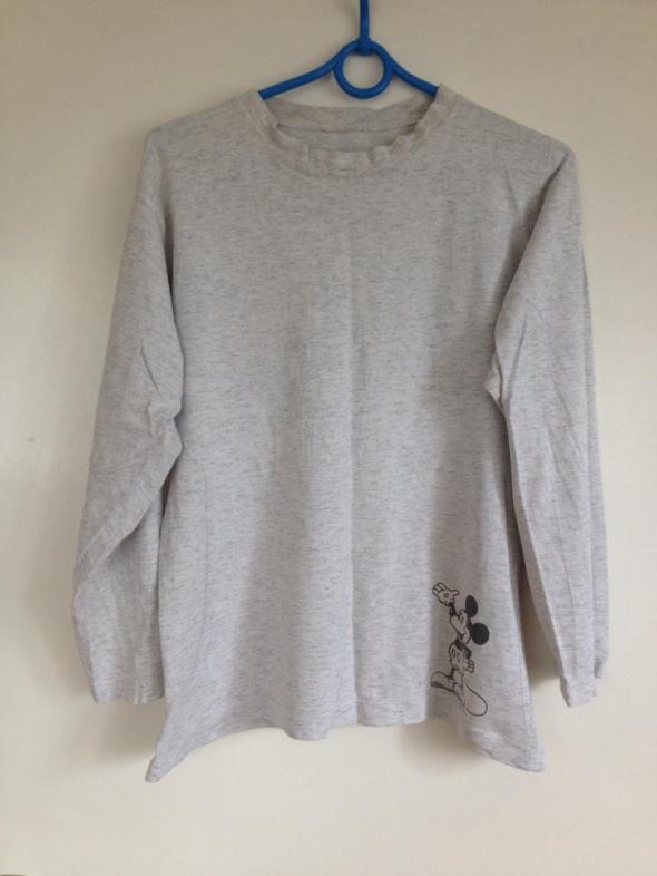 Buzka piżama myszka mickey micki disney channel S 36 M 38 szara używana klasyczna długi rękaw
