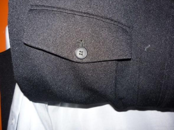 garnitur czarny 3 częściowy koszula gratis