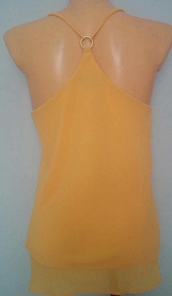 Bluzki Bluzka mgiełka brzoskwiniowa S