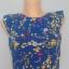 Bluzka kwiaty koszula niebieska S