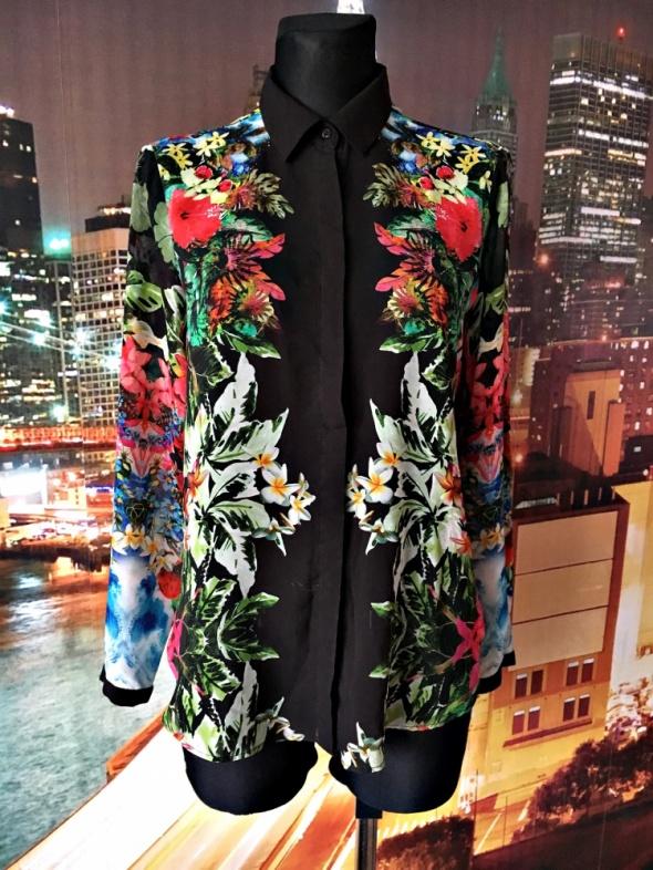 zara koszula mgiełka kwiaty floral hit blog 38 M