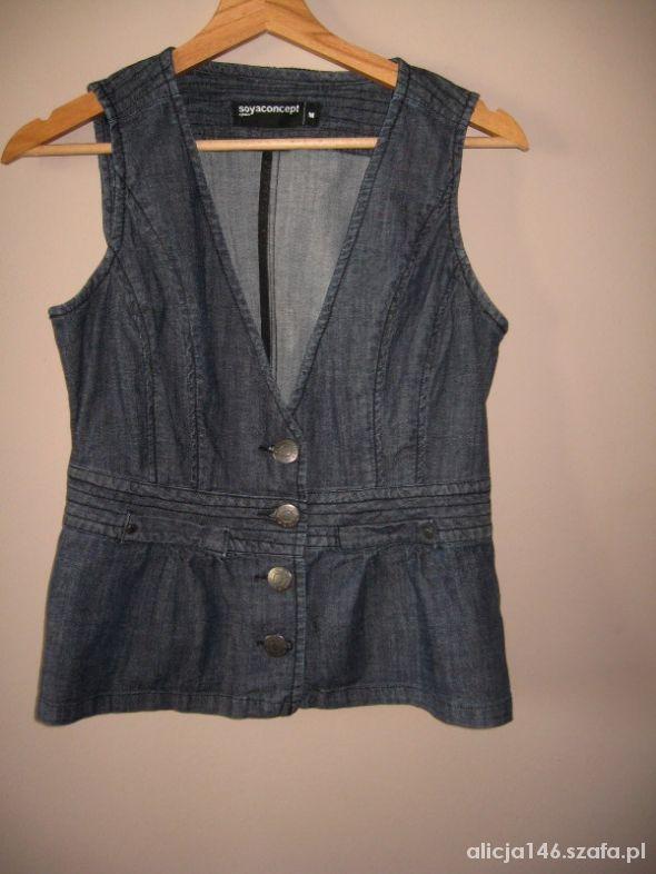 Soya Concept Jeans dżinsowa kamizelka M...