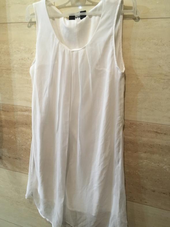 biała tiulowa sukienka 36 S...