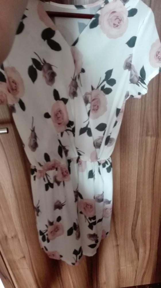 śliczna sukienka floral nowa