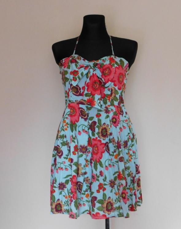Cutie sukienka kwiaty mini 38 40...