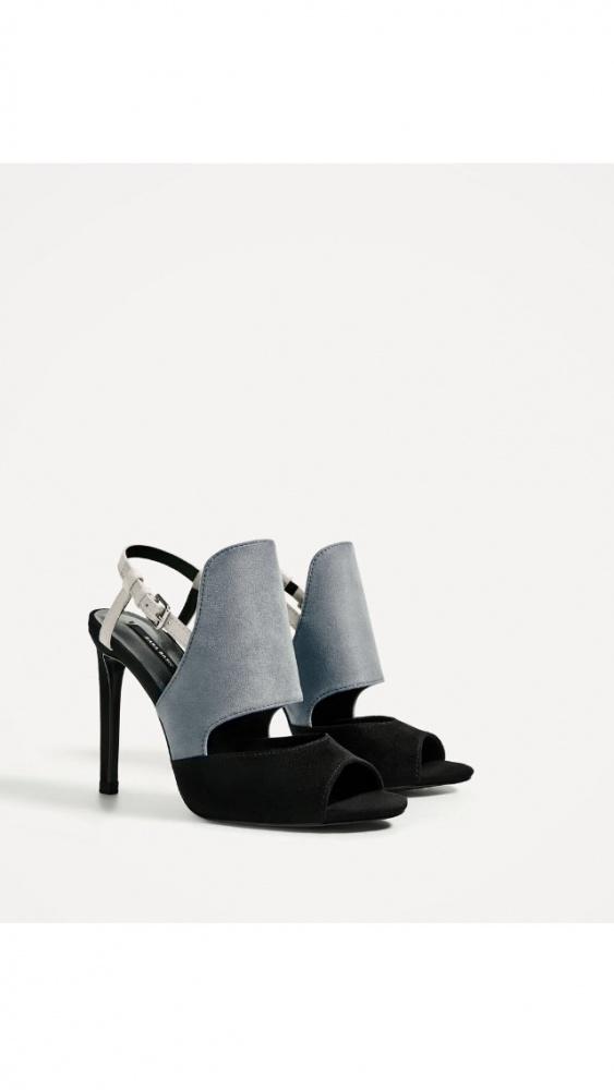 Piękne dwubarwne buty ZARA