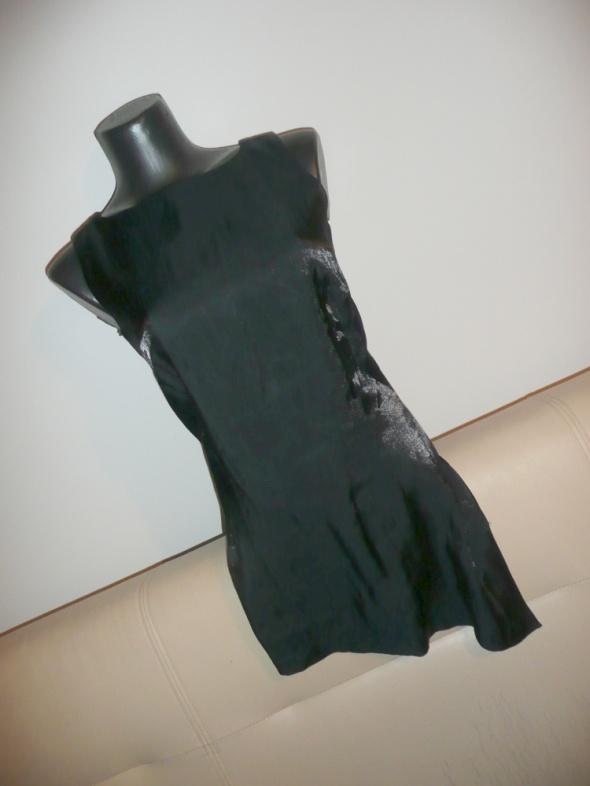 Bluzki bluzka asymetryczna połysk