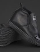 Sneakersy czarne 38...