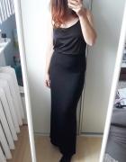 Czarna maxi długa spódnica...