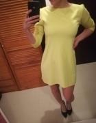 Cytrynowa sukienka mini...