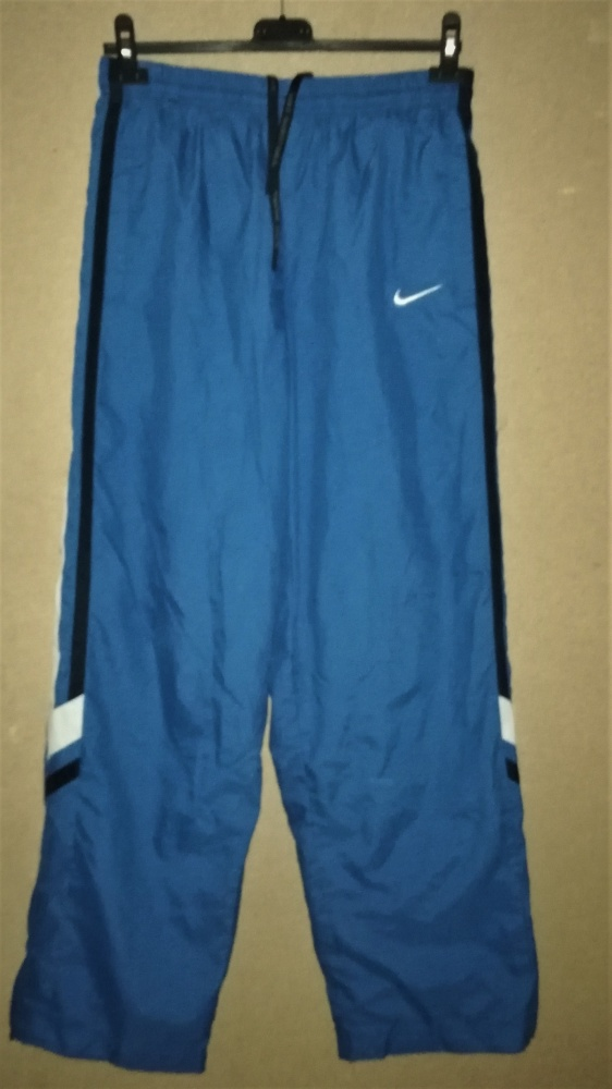 Nike Basketball Niebieskie spodnie sportowe dresy M