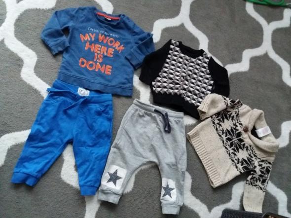 Ubrania dla chłopca...