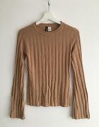 Dopasowany sweterek H&M xs...