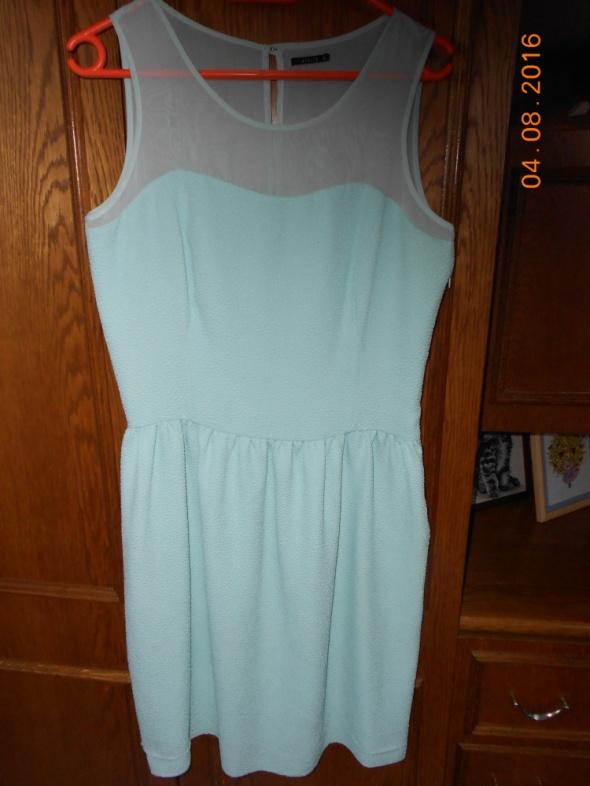 2e750b2b12 miętowa sukienka Mohito rozmiar xl w Suknie i sukienki - Szafa.pl