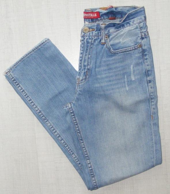 AEROPOSTALE Super jeansy przecierane...