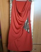 Sukienka z cekinami...