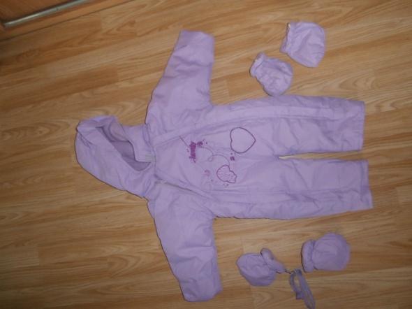 kombinezon zimowy niemowlęcy roz ok 80