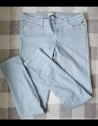 Bershka jasne jeansy...