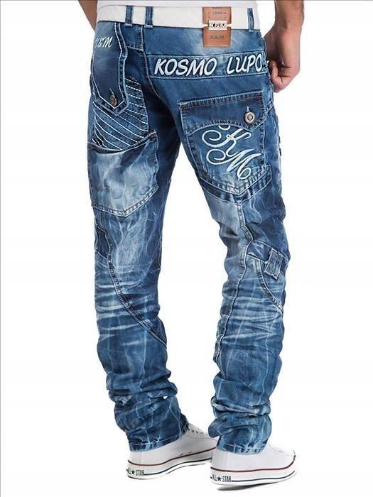 Dżinsy jeans Kosmo Lupo KM