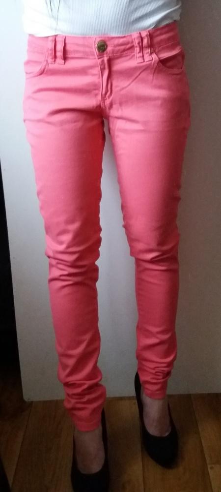 spodnie różowe rurki Clockhouse rozm 38...
