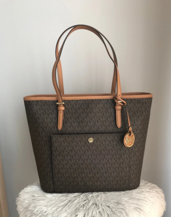 Michael Kors Jet Set BROWN monogram