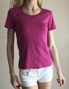 Różowa bluzka w krótkim rękawem JackPot