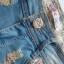 Szorty jeansowe dziury XS S Hit lata