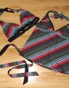 Bikini i tankini w kolorowe prążki Etirel M...