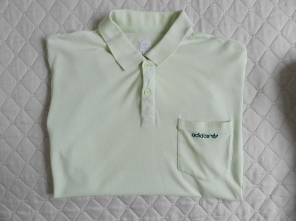 Adidas zielone polo XL...