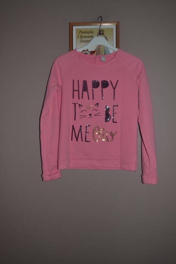 Różowa bluza TU 10 11 12 lat 140cm 146cm 152cm...