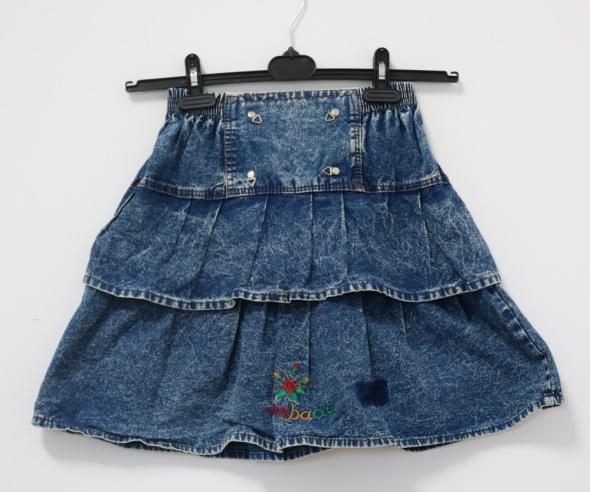 Marmurkowa spódnica vintage lambadówka S