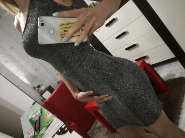 Sukienka brokat wieczorowa...