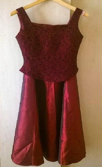 Sukienka 2 częściowa balowa