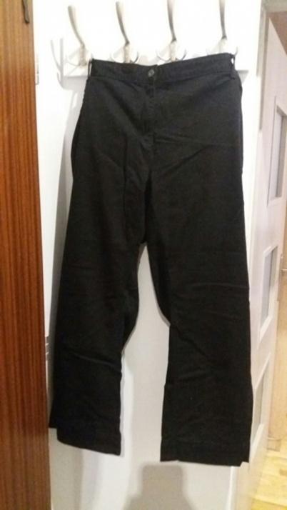 Czarne spodnie jeansy 50 52 54 56 24 26