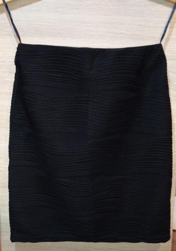 Spódnice Czarna spódniczka elastyczna na gumce