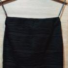 Czarna spódniczka elastyczna na gumce