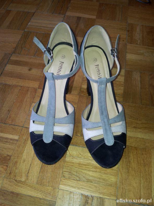 Sandały Jennifer 40 wysoki obcas...