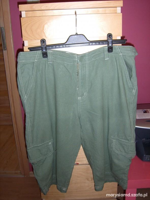 zielone męskie szorty