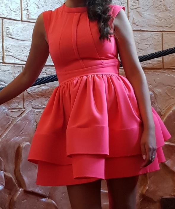 Suknie i sukienki Śliczna nowa koralowa 36