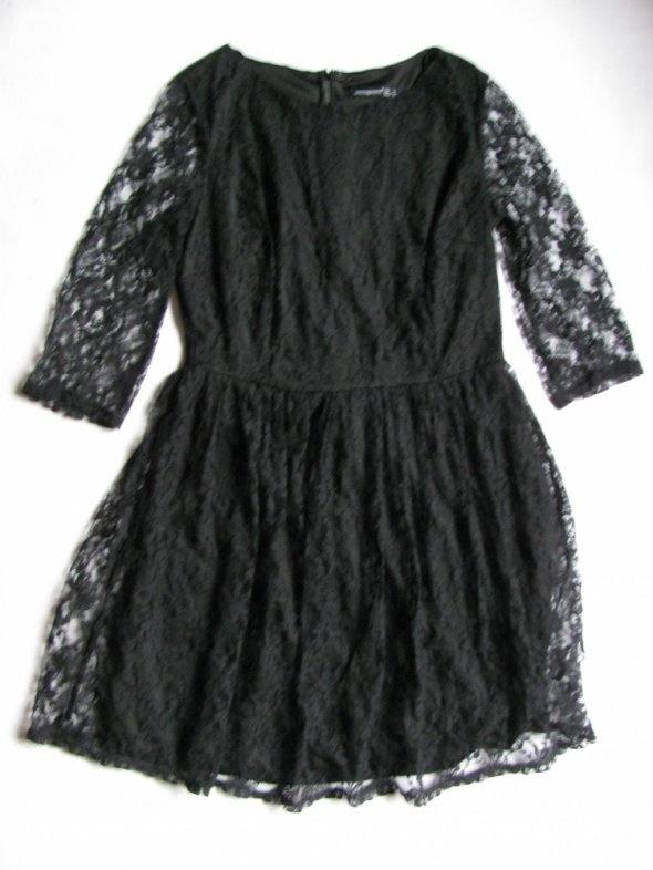 6b5ecf4b2d7a70 ATMOSPHERE NOWA CZARNA SUKIENKA Z KORONKI 40 42 w Suknie i sukienki ...