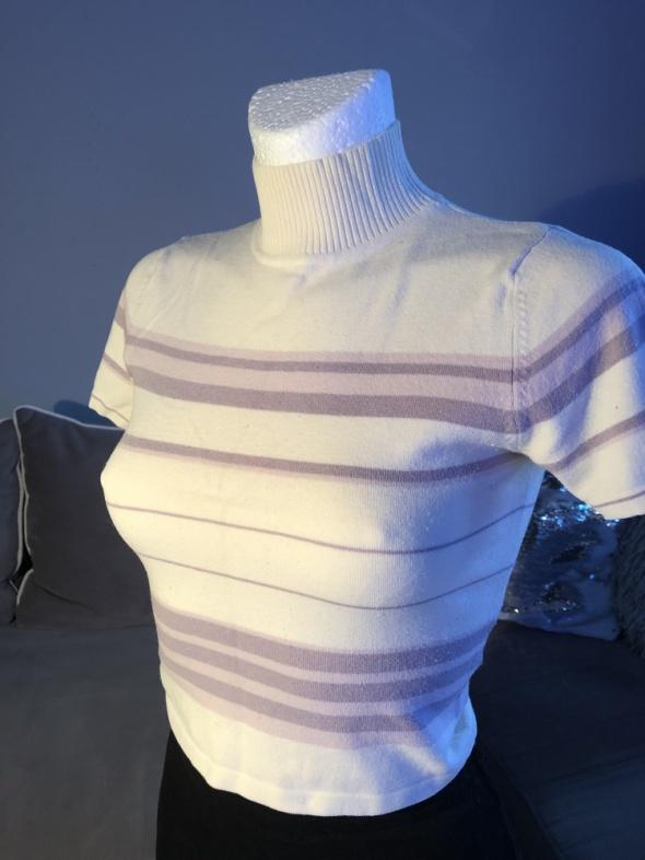 Bluzki Półgolf w paseczki