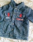 jeansowa kurtka na misiu...