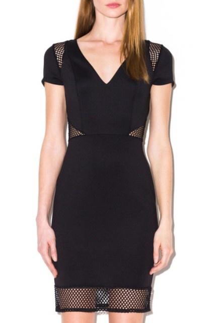 Suknie i sukienki Sukienka TALLY WEIJL czarna sexy S 36 M 38