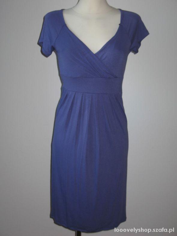 Nowa sukienka fiolet bawełna